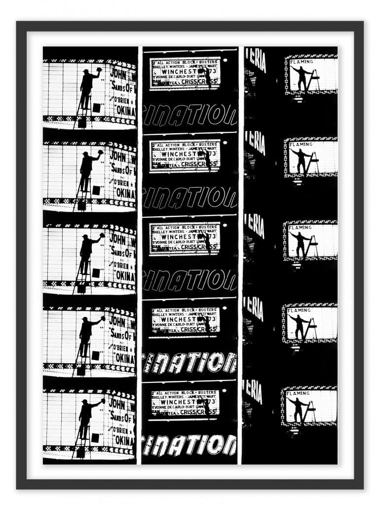 Film Strips from Broadway by Light #2, 1958