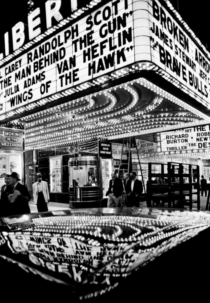 Wings of the Hawk, 42nd Street, New York, 1955