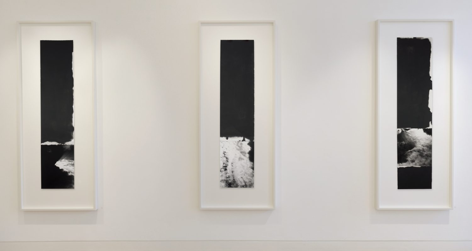 Ian McKeever - ...and the sky dreamt it was the sea install image