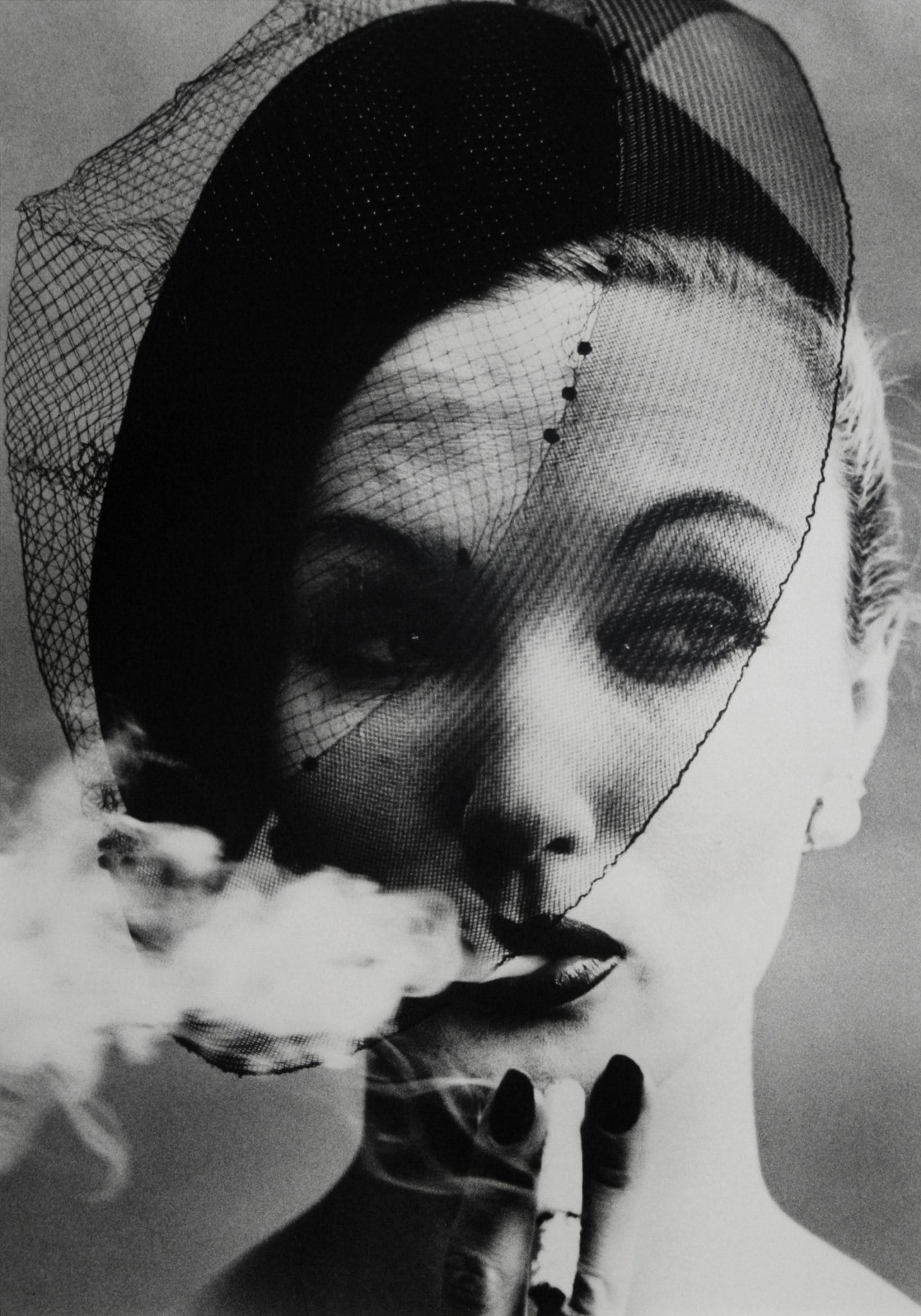 Smoke + Veil, Paris (Vogue), 1956
