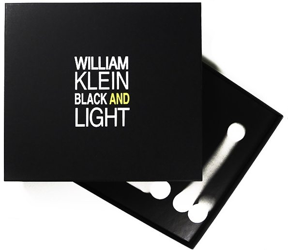 William Klein imprint black and light
