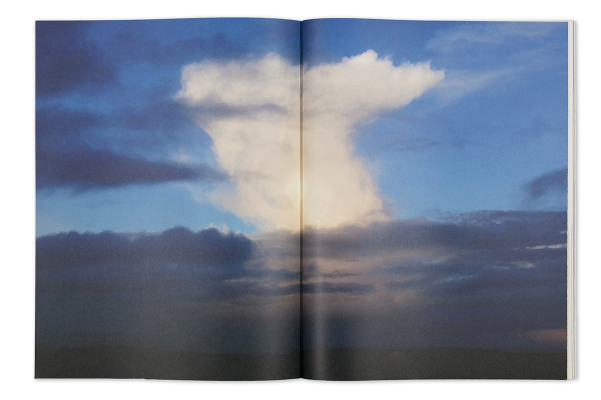 Garry Fabian Miller - Seeing Believing artist book clouds