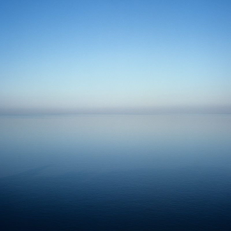 Garry Fabian Miller - Sections of England: The Sea Horizon No. 17, 1976-1977