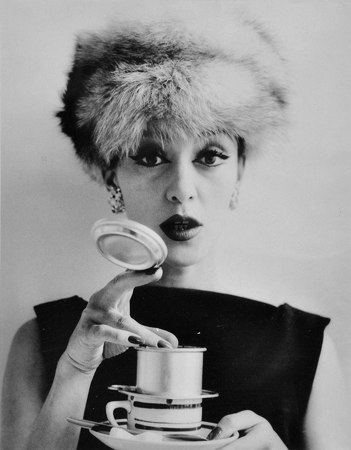 Barbara and Coffee Filter, 1956