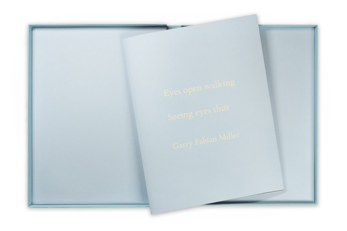 Garry Fabian Miller - Seeing Believing artist book cover and box