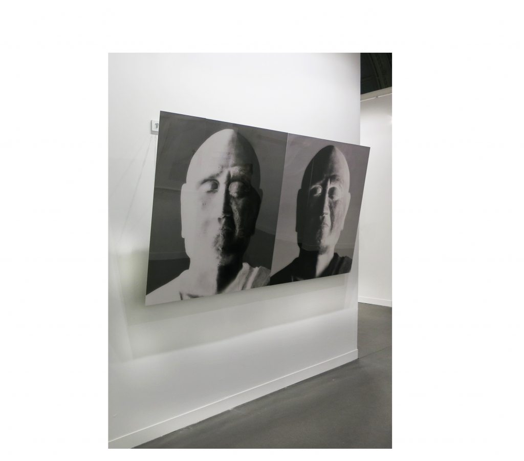 Installation image, Ganjin (negative) and Gangin (positive)