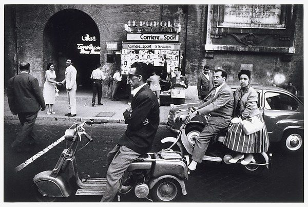 Red Light, Piazzale Flaminia, Rome, 1956