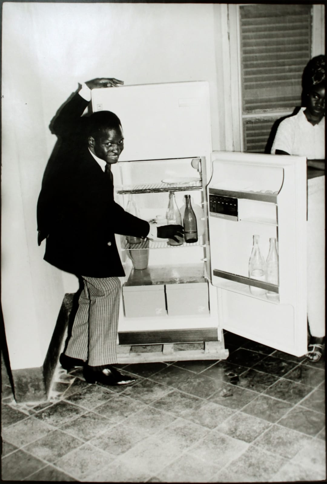 Me Alone at the Fridge, 1968