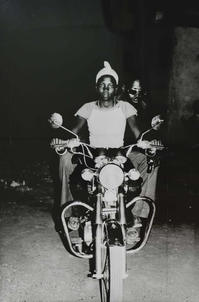 On the Suzuki, 1975