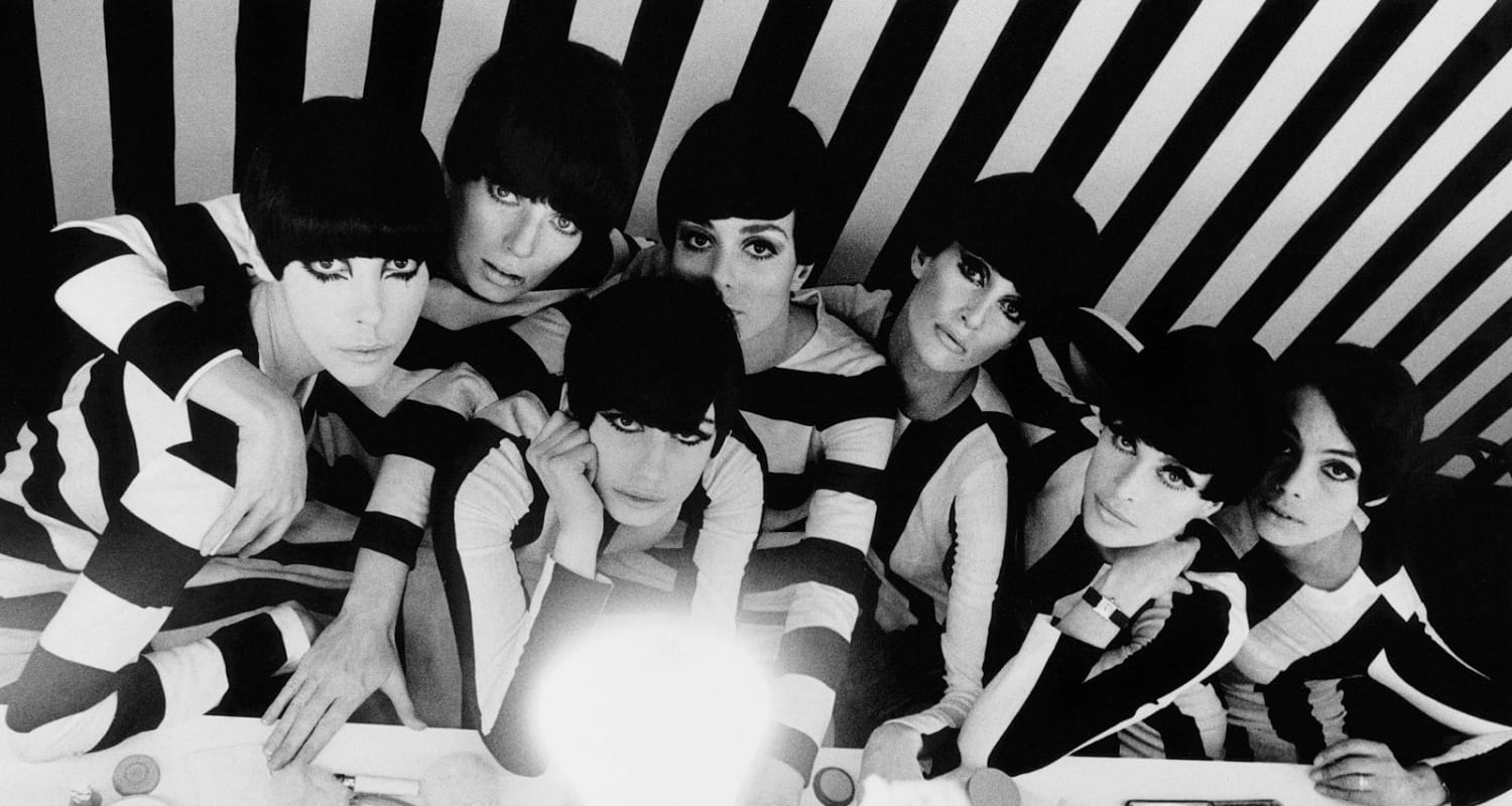 William Klein Polly Maggoo detail image - black and white photography - HackelBury Fine Art