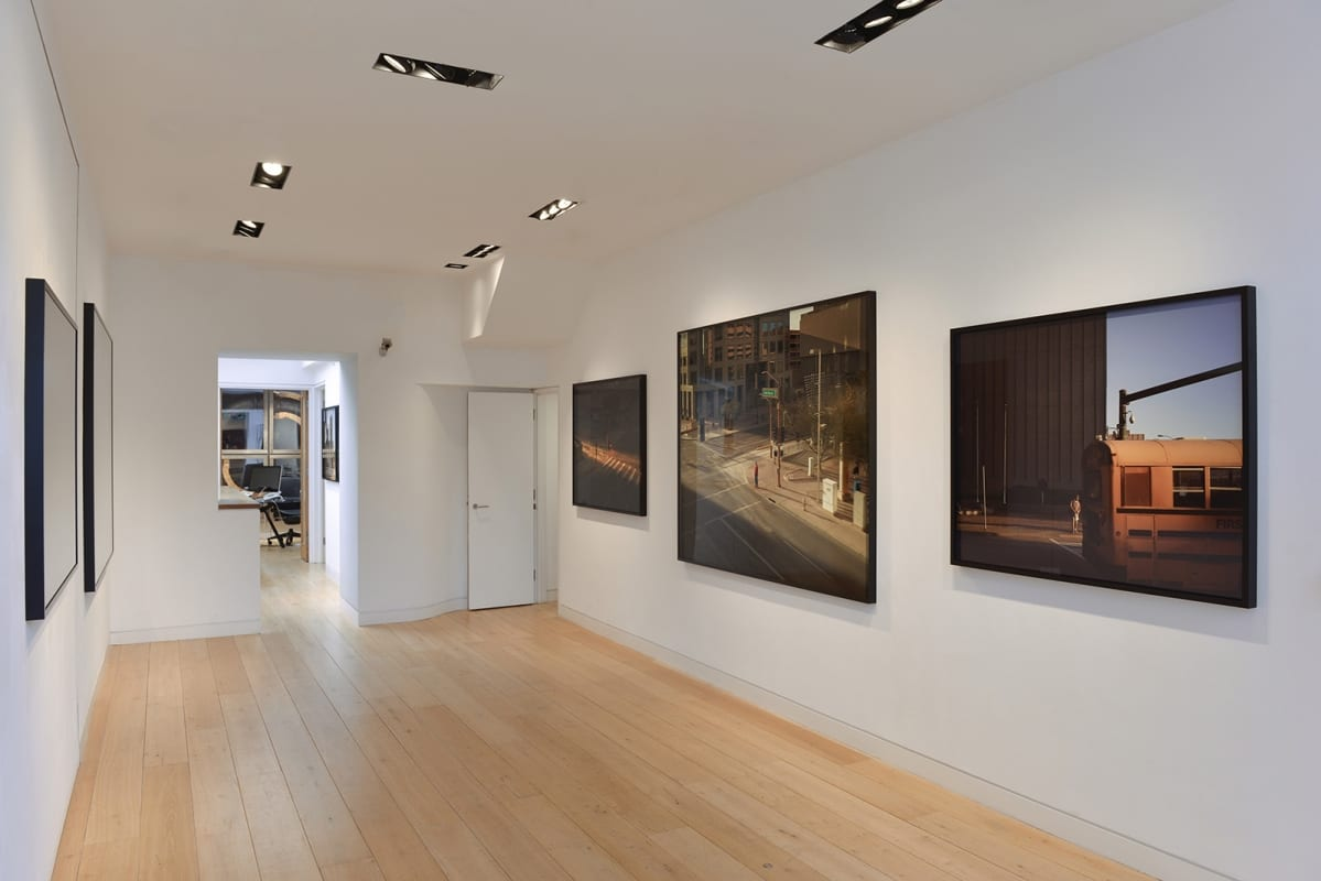 Oli Kellett photographic artwork - hackelbury fine art - gallery installation