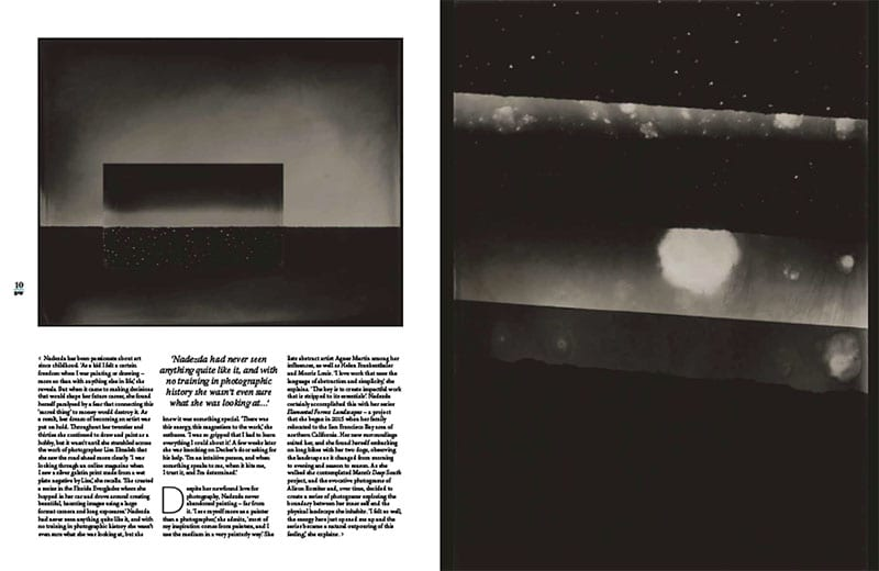Nadezda Nikolova-Kratzer-Press article-Black and White Magazine