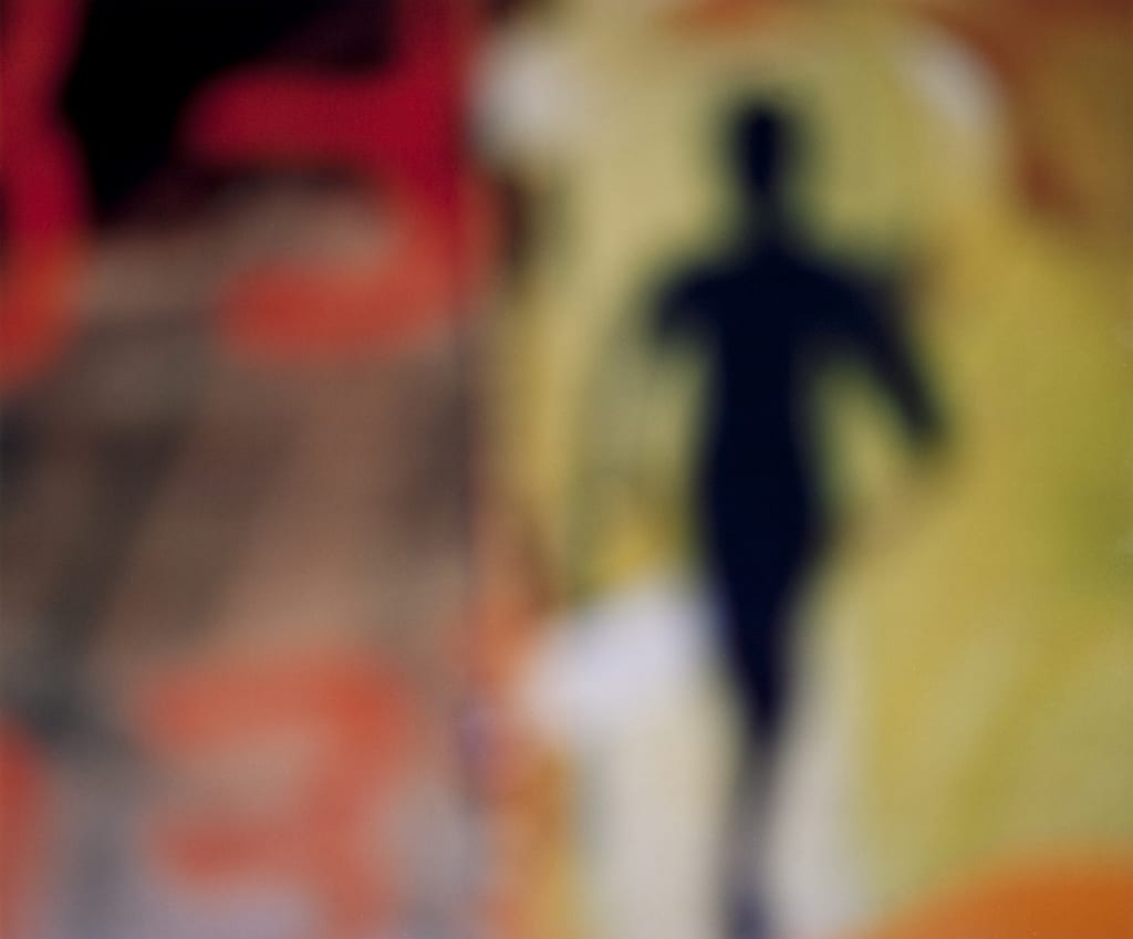 Bill Armstrong Figure 86 - blurred colour photograph - human figure