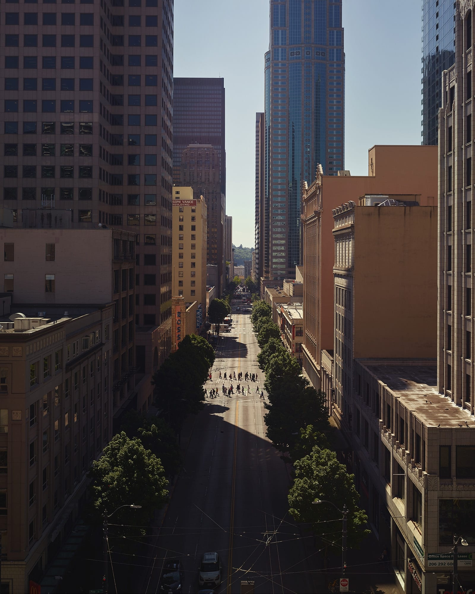 3rd Ave, Seattle (2018)