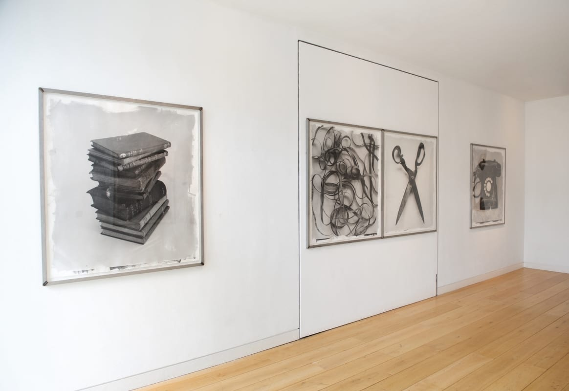 Stephen Inggs- London Gallery Installation of Photographs- HackelBury Fine Art