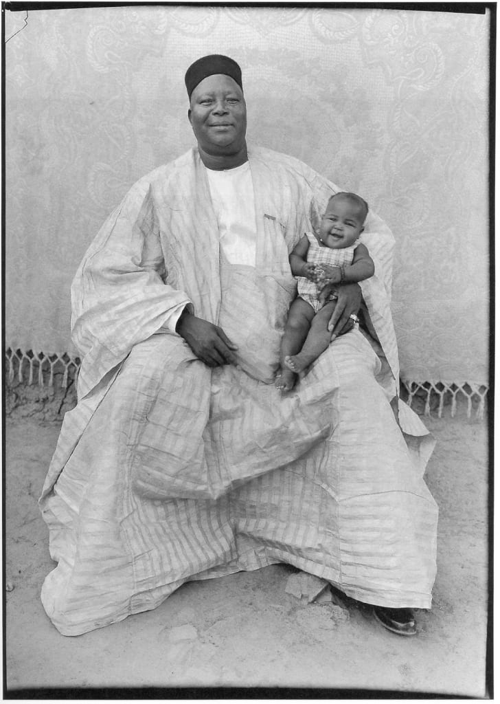 Seydou Keita-lovely daughter-photograph of father and child-HackelBury Fine Art London