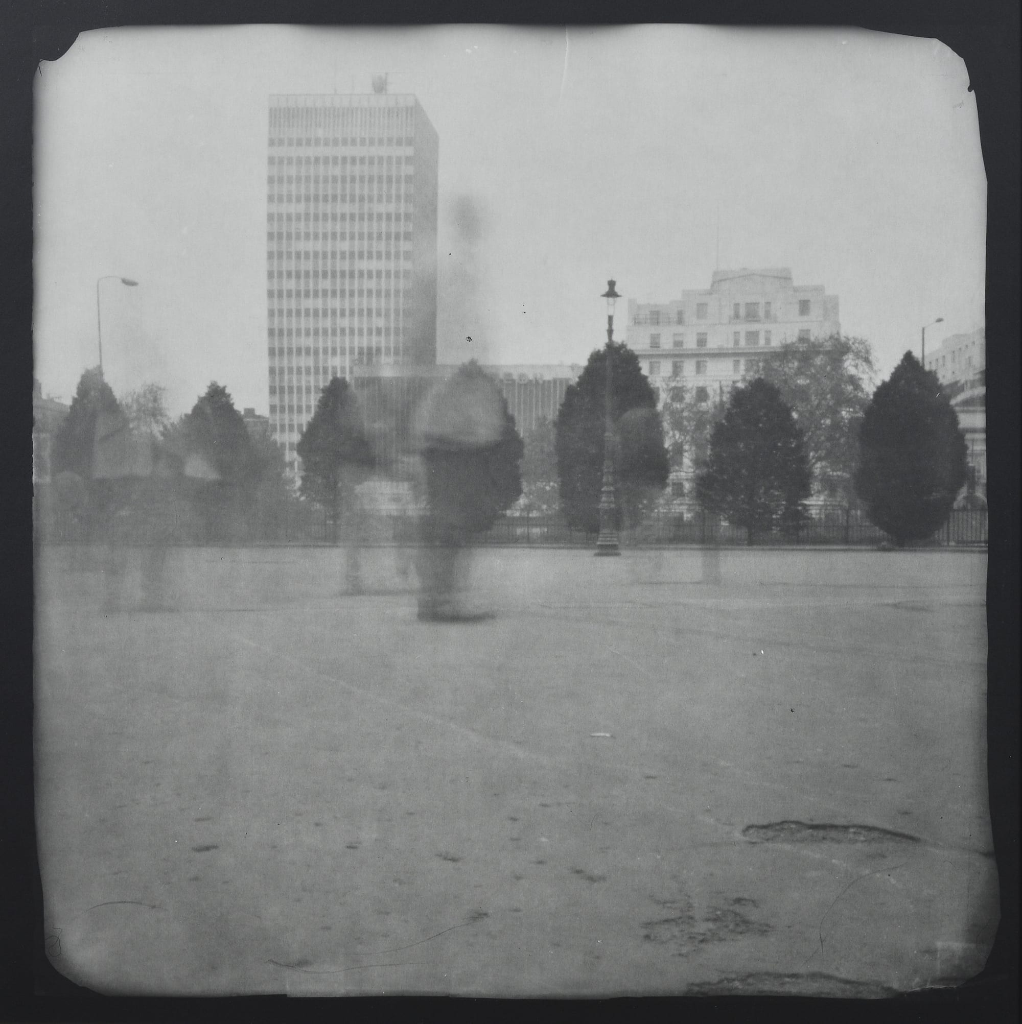 Katja Liebmann-London 1 (Hyde Park)-1997-Pinhole camera gelatin silver print-Courtesy HackelBury Fine Art, London-©Kajta Liebmann