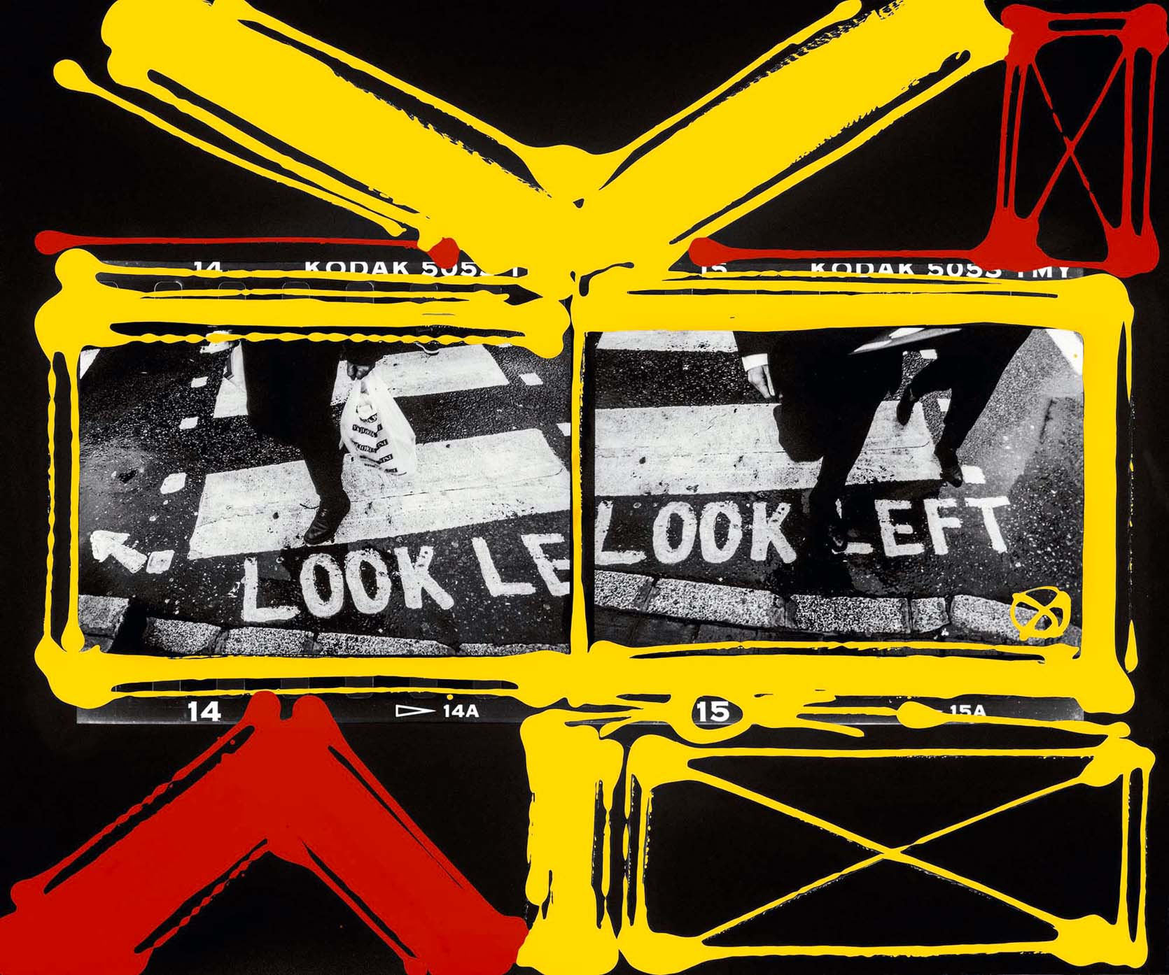 Look Left, London 1998-2006, printed 2019