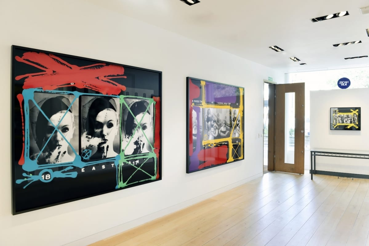 William Klein HackelBury Fine Art-London Photography Installation View
