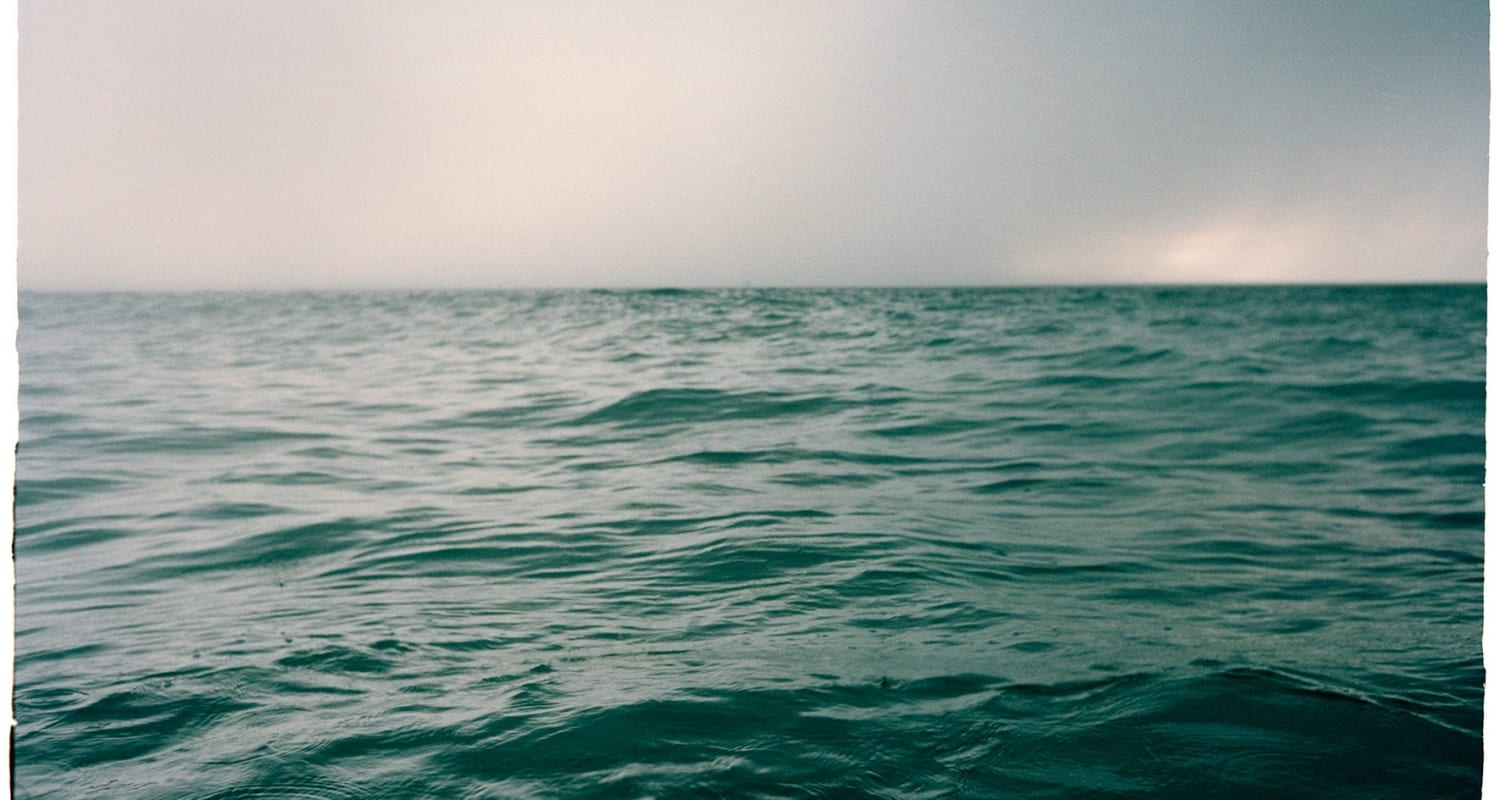 Stephen Inggs artwork - photograph of the sea