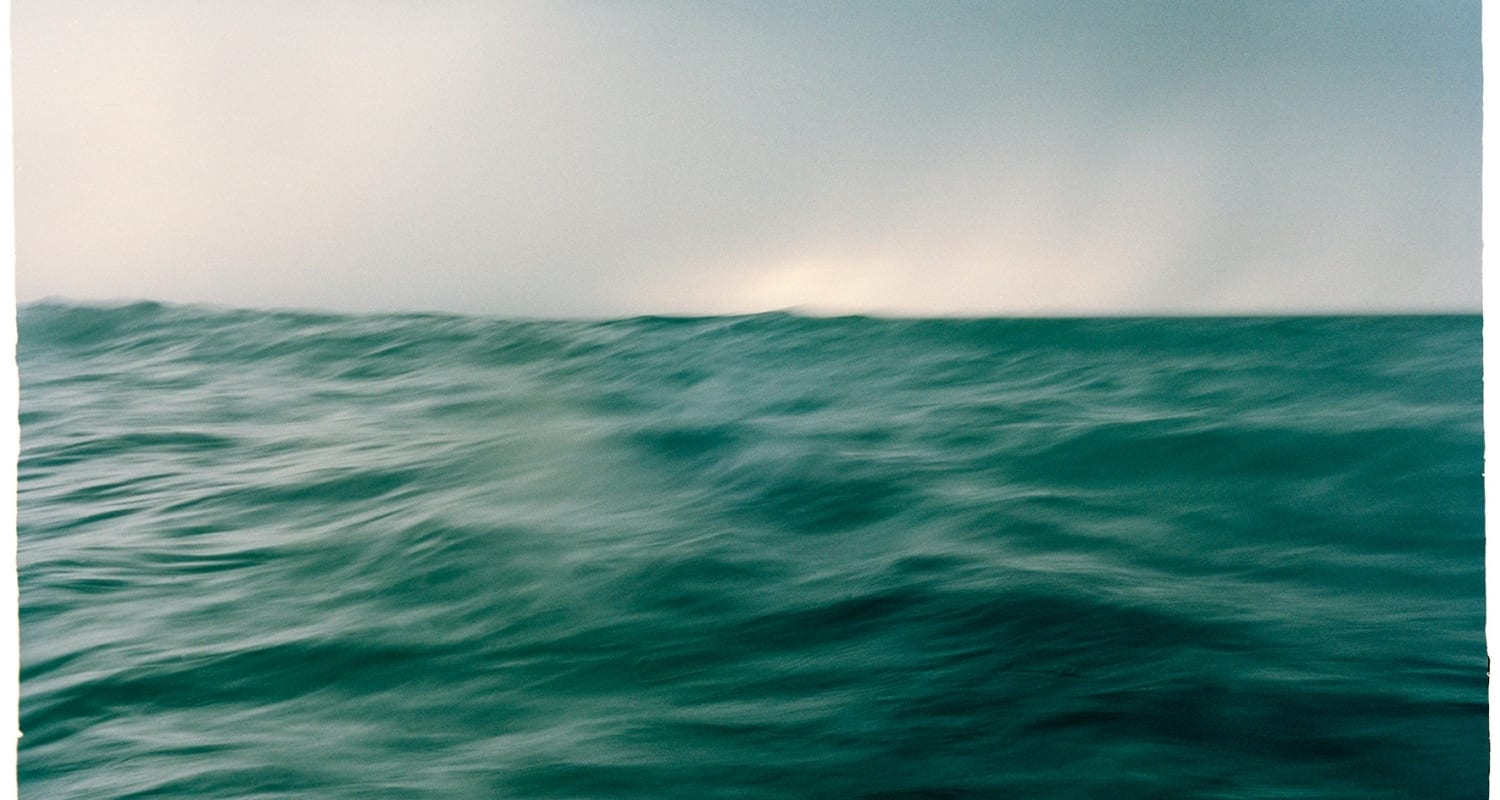 Stephen Inggs artwork - soft focus photograph of the sea