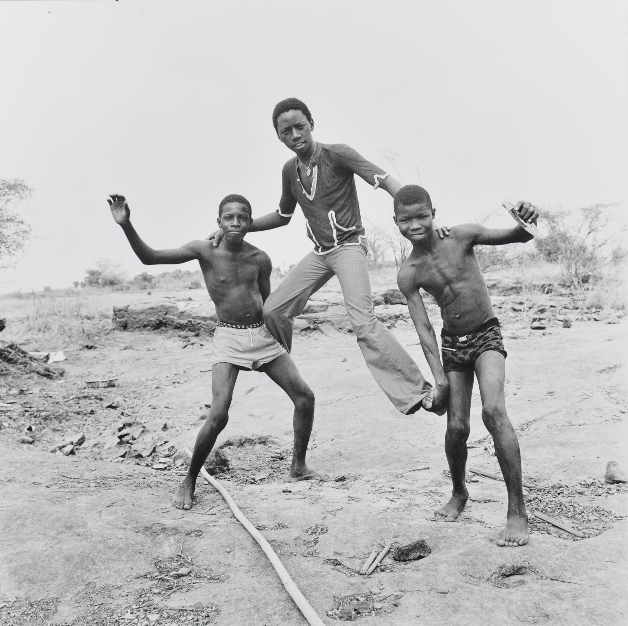 Malick Sidibé - On the Shores of the Niger, 1976