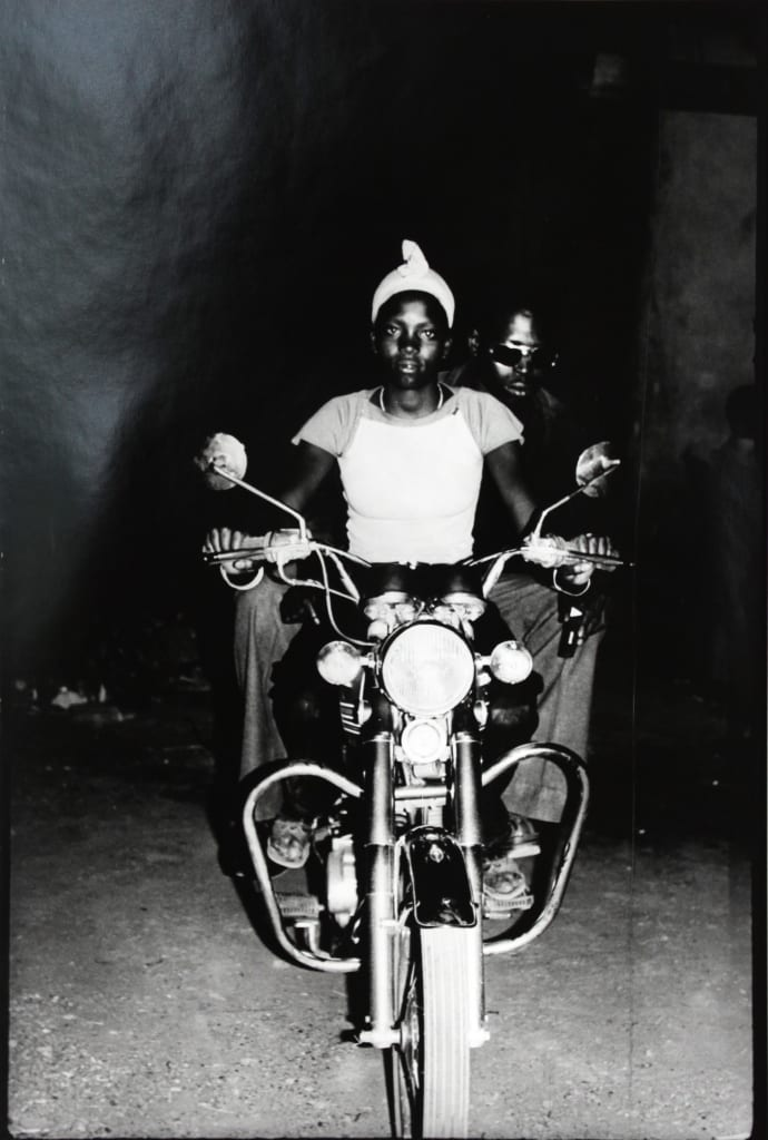 Malick Sidibé - On the Suzuki, 1975