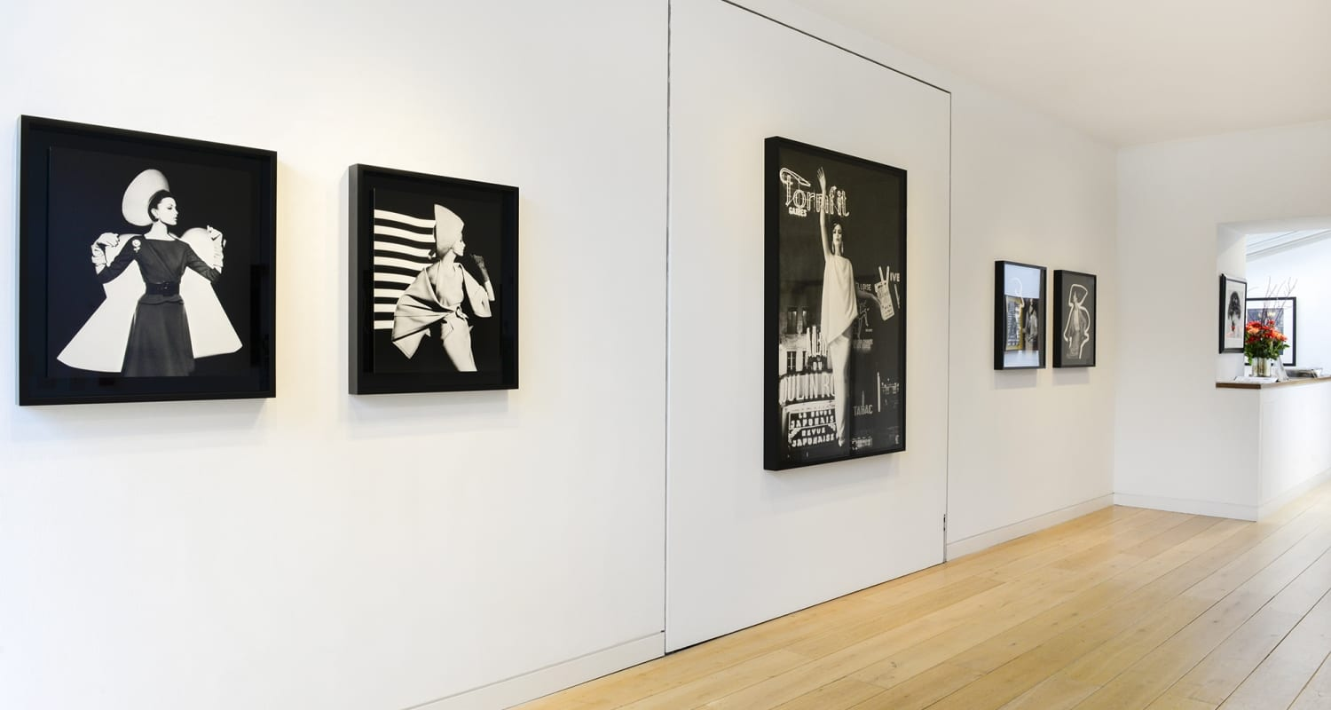 William Klein HackelBury Fine Art Installation View
