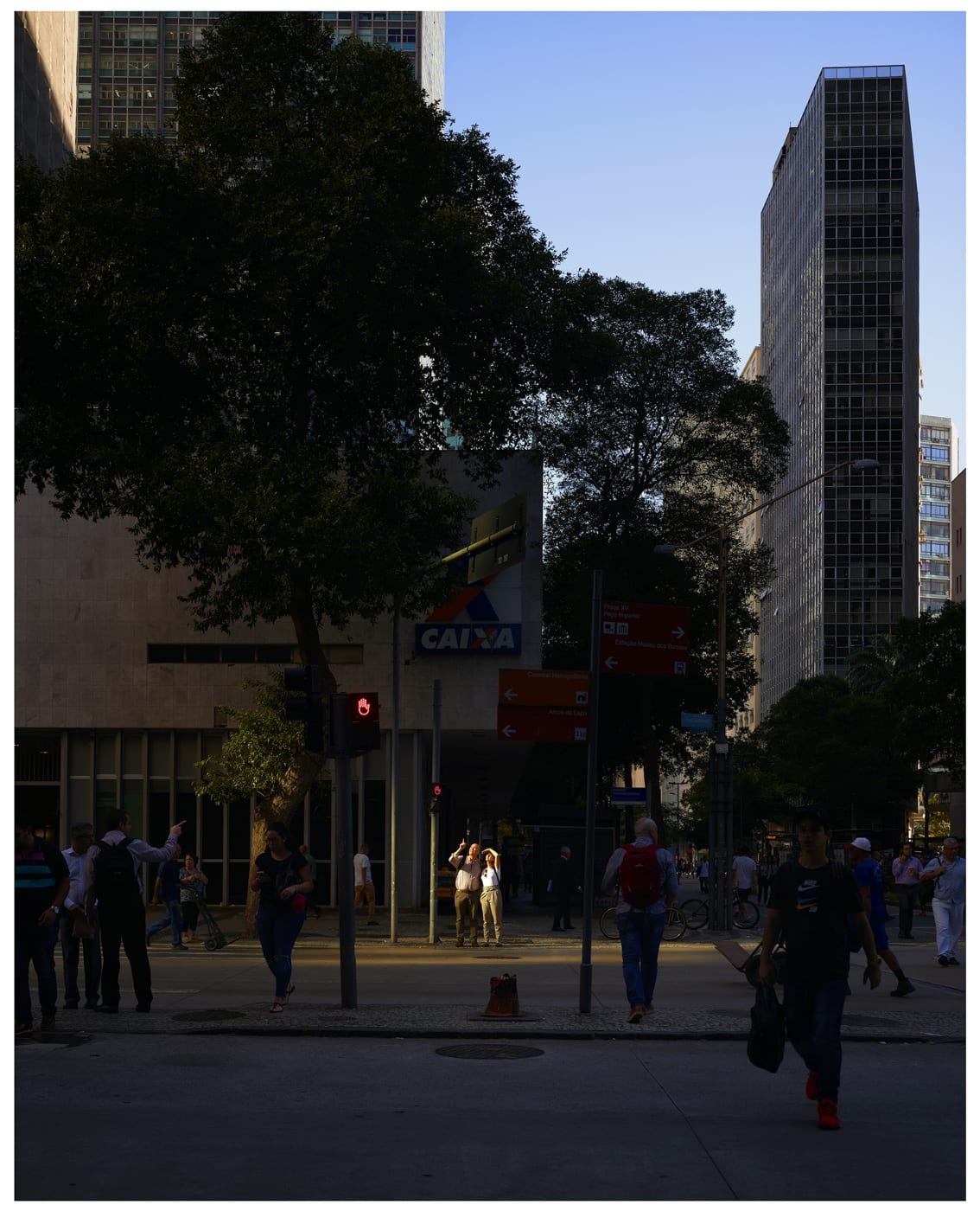 Cross Road Blues (Av. Almirante Barroso, Rio, Brazil), 2019 Oli Kellett